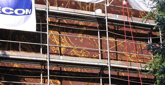 Już za dwa tygodnie zobaczymy całe dzieło trójmiejskich artystów wzorowane na słynnej grafice Jana Heweliusza - Północne Niebo.