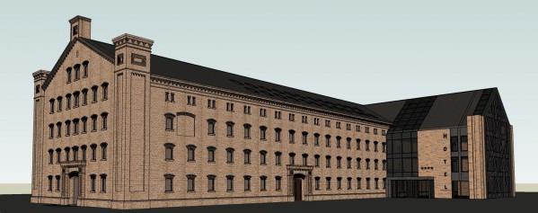 Zagraniczny inwestor planuje budowę hotelu w ruinach zabytkowego budynku po dawnych zakładach mięsnych.