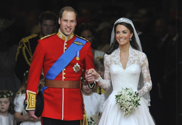 Książe William i Kate Middleton.