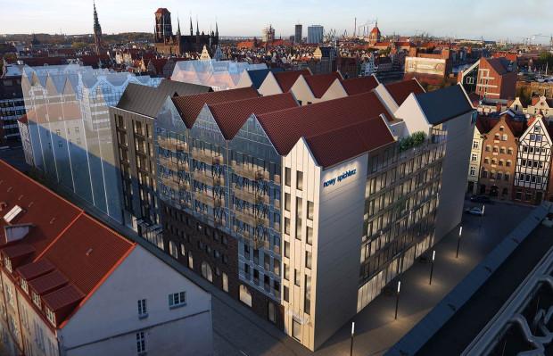 Część hotelowa inwestycji Nowy Spichlerz na Wyspie Spichrzów powstanie od strony ul. Pszennej i Żytniej.