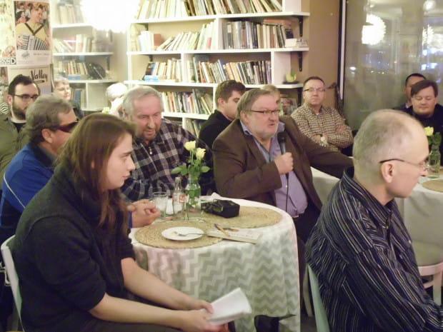 Spotkanie przyciągnęło 40 osób. Na najbliższe, 19 stycznia, zapisało się na FB ponad 70.