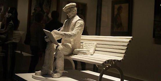 Antoni Suchanek, malarz-marynista, zyska swoją ławeczkę, która stanie nieopodal orłowskiego klifu.
