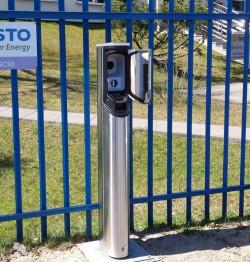 Auto EV można bezpłatnie zatankować również w Straszynie.