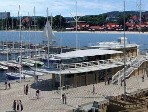 Tak za rok będzie wyglądała marina żeglarska przy molo w Sopocie.