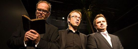 Od lewej: Krzysztof Matuszewski, Michał Kowalski, Piotr Łukawski