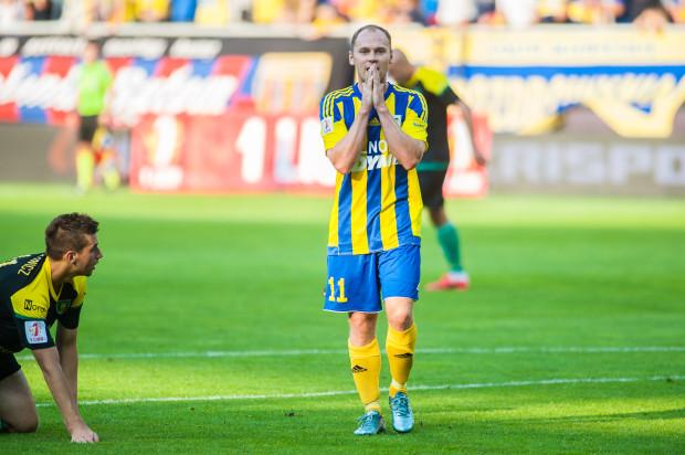 Jeśli Rafał Siemaszko na inaugurację wiosny sprowadzi piłkarzy GKS w Katowicach do parteru, to ma szanse pozostać w ataku Arki na dłużej.