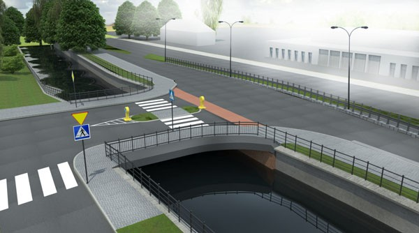 Nowy most nad Kanałem Raduni ma być receptą na korki.
