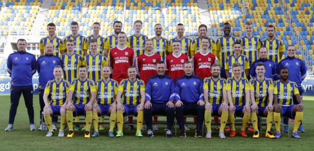 Piłkarze Arki wiosnę rozpoczynają jako wiceliderzy I ligi. Jeśli co najmniej utrzymają tę pozycję do końca sezonu, awansują do ekstraklasy.