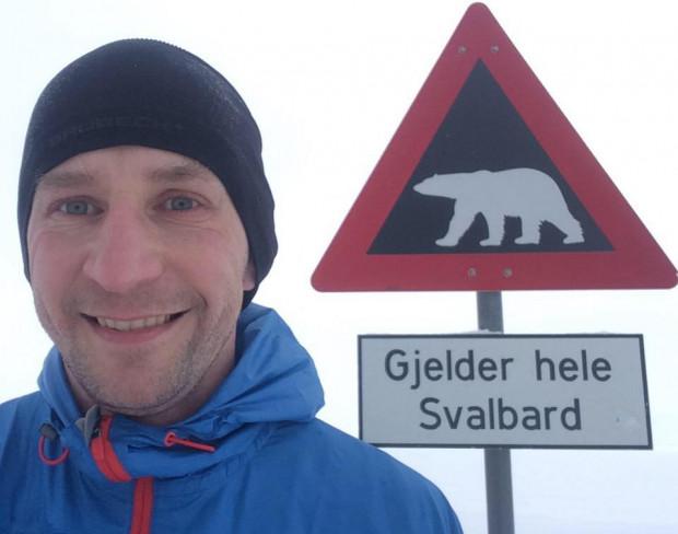 Piotr Suchenia liczy na podium w maratonie na Biegunie Północnym.