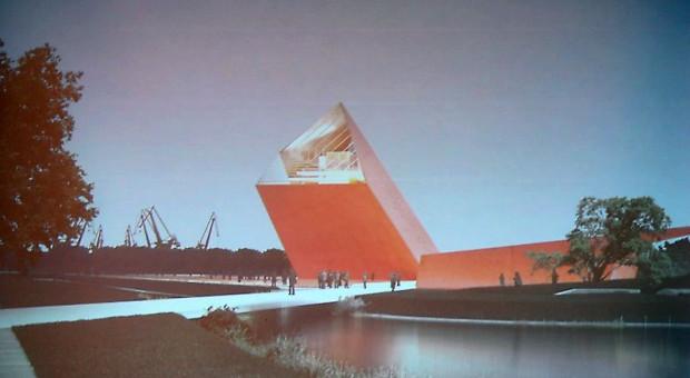 Zwycięski projekt Muzeum II Wojny Światowej opracowany przez Studio Kwadrat z Gdyni.