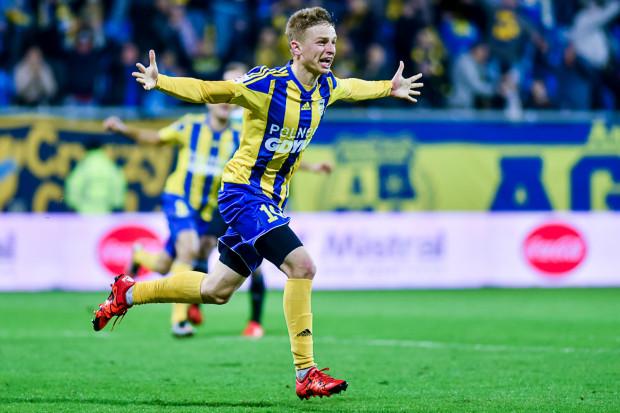 Mateusz Szwoch strzelił pierwszego gola w I lidze od powrotu zimą do Arki. Na koncie ma także pięć asyst.