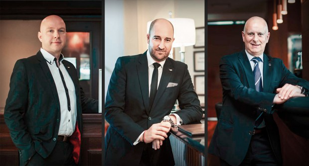 Dyrektorzy generalni: Michael Seling (hotele Radisson Blu w Gdańsku i Rezydent w Sopocie), Gregory Millon (Sofitel Grand Sopot) oraz Emanuele Dalnodar (Sheraton Sopot Hotel)