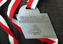 Pamiątkowy medal.