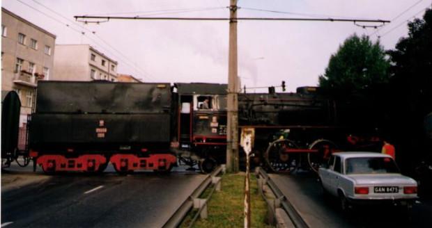 To nie fotomontaż, to dawna bocznica kolejowa na Grabówku.