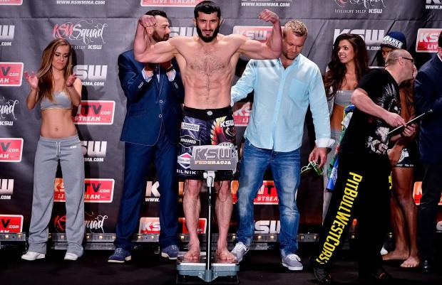 Mamed Chalidow będzie walczył w Ergo Arenie o 12 z rzędu zwycięstwo w KSW.