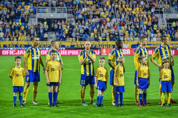 Piłkarze Arki w niedzielę po raz ostatni zagrają w I lidze. Mecz z Chrobrym Głogów może obejrzeć około 12 tysięcy kibiców. Potem w centrum miasta odbędzie się feta.