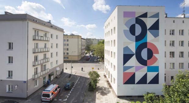 Pierwszy gotowy mural w ramach tegorocznej edycji festiwalu Traffic Design.