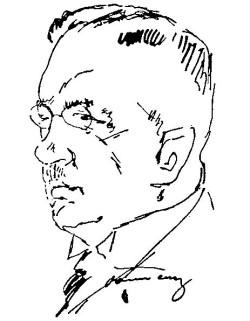 Ostatni komisaryczny wójt Oliwy, dr Meyer-Barkhausen. Podobizna zamieszczona 1 lipca 1926 r. w Danziger Volksstimme.