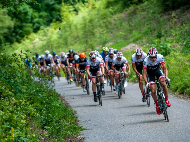 Migawki z wyścigu kolarskiego Cyklo Sopot 2016