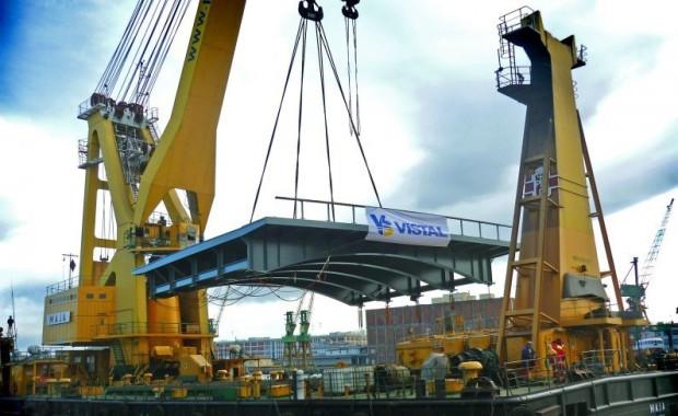 Grupa Vistal jest producentem specjalistycznych, wielkogabarytowych konstrukcji stalowych.
