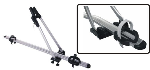Bagażnik do przewozu roweru na dachu samochodu Taurus BikeUp Pro