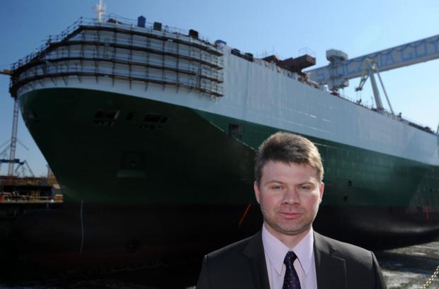 Mateusz Filipp od wielu lat jest związany z branżą stoczniową.