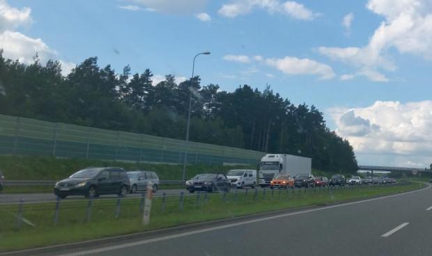 W najbliższy weekend należy spodziewać się dużych utrudnień na autostradzie i dojazdach do niej.