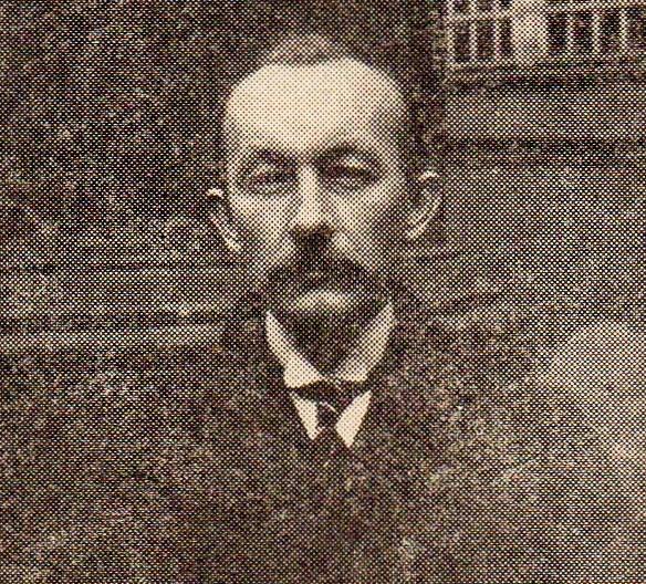 Zdjęcie prof. J. Kostrzewskiego z 1924 roku.