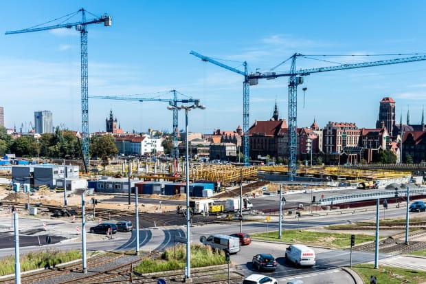 4872f813fff70 Forum Gdańsk wyrasta z ziemi. Prace już na półmetku - Serwis DOM i  NIERUCHOMOŚCI
