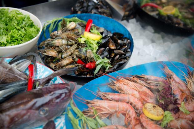 Dary morza (oraz lasu) to motyw przewodni sobotnich wydarzeń na Placu Grunwaldzkich w ramach Weekendu Kulinarnego w Gdyni.