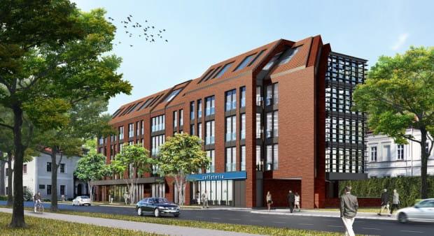 Tak, według projektu stworzonego na zlecenie Capital Park, miał wyglądać biurowiec przy ul. Szymanowskiego 12.
