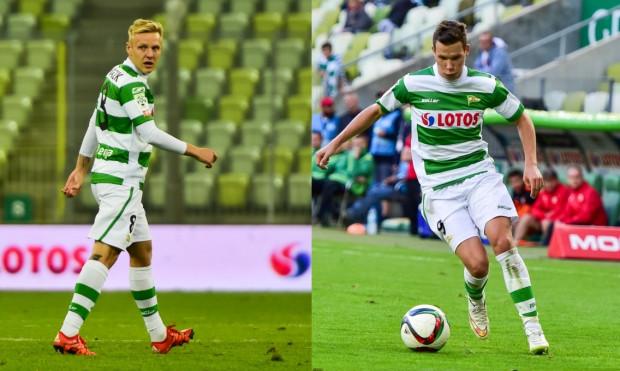 Daniel Łukasik (z lewej) i Michał Mak (z prawej) przynajmniej na rok przenieśli się z Gdańska do Niemiec.
