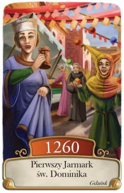 Na kartach gry pojawią się wydarzenia związane z Gdańskiem - choćby takie jak Jarmark Dominikański
