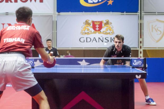 W pojedynku reprezentantów Polski na tegoroczne igrzyska olimpijskie lepszy był Patryk Zatówka (z prawej), a Unia AZS AWFiS Gdańsk pewnie wygrała na inaugurację rozgrywek ligowych, w których broni tytułu mistrza Polski.