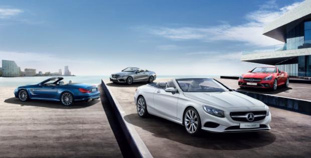 Chcesz przejechać się kabrioletem Mercedesa? W sobotę odwiedź salon  firmy Witman.