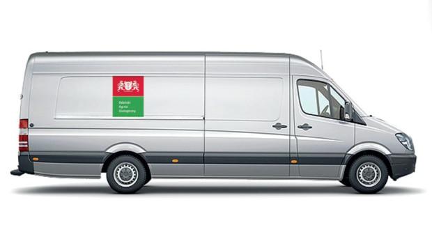 Nowe logo pojawi się nie tylko w dokumentach czy na stronie internetowej, ale też na samochodach służbowych.