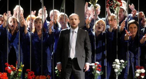 """Opera """"Makbet"""" w reżyserii Marka Weissa to najbardziej dyskusyjne wydarzenie tegorocznego festiwalu Solidarity of Arts."""