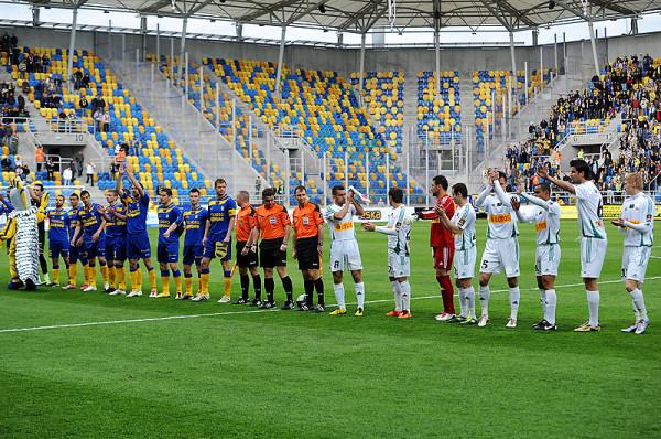 Ostatnie derby Arka Gdynia - Lechia Gdańsk odbyły się 1 maja 2011 roku. Padł remis 2:2.