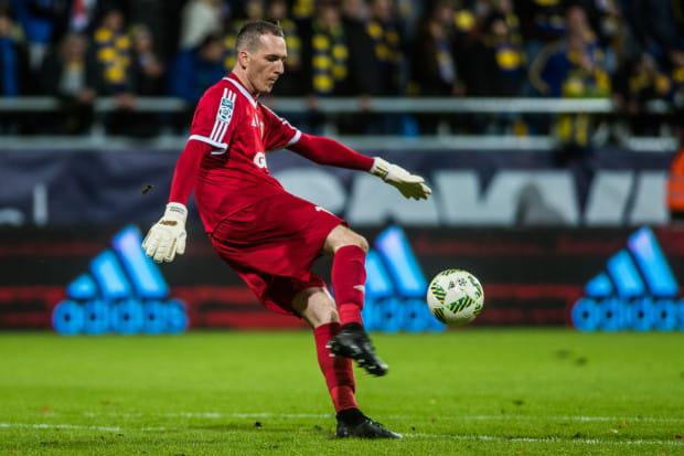To już 7. mecz, a 3. z rzędu na wyjeździe, w którym Konrad Jałocha w tym sezonie w ekstraklasie nie wyjmował piłki z siatki.