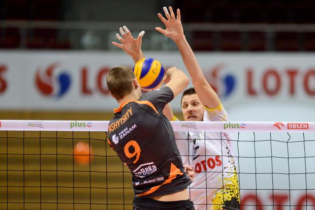 Dwa sezony temu Dmytro Paszycki wybił się w PlusLidze w barwach Cuprum Lubin. Teraz gra razem z Wojciechem Grzybem w Lotosie Treflu.