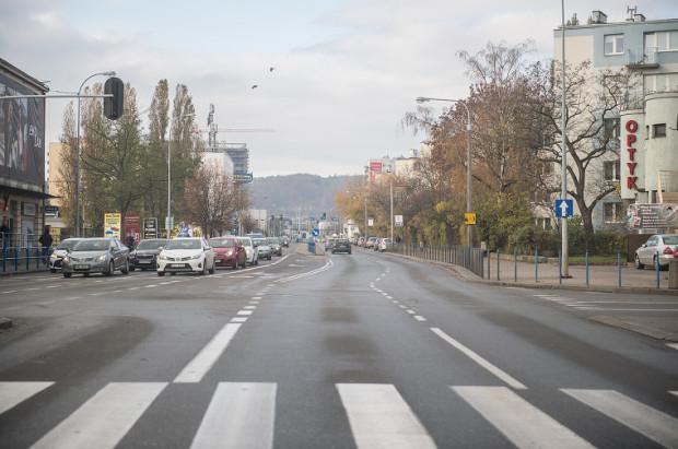 Ulica Kołobrzeska w Gdańsku.