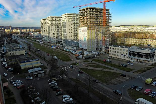 Inwestycja Cztery Oceany przy ul. Obrońców Wybrzeża.