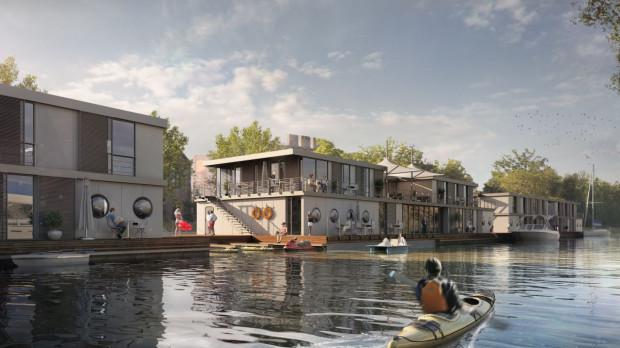 Na kanale Na Stępce przy Ołowiance też miała być marina w ramach Pętli Żuławskiej, ale zrezygnowano z tego pomysłu. Staną tam jednak pływające hotele.