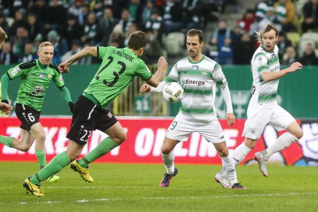 Marco Paixao strzelił pierwszego gola dla Lechii w meczu z Górnikiem.