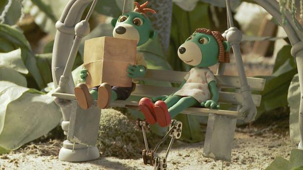 Treflik i Treflinka - główni bohaterowie serialu dla dzieci, który powstaje w gdyńskim Studio Trefl.