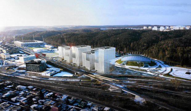 Atal odkupił 1/3 terenu o powierzchni 1,6 ha między ul. Górskiego a Drogą Gdyńską zlokalizowaną na wysokości Hali Gdynia. Na wizualizacji widać projekt przygotowany na zlecenie Nova Investment przez Arch Deco, który w tej formie nie zostanie zrealizowany.