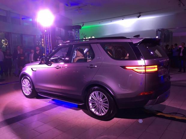 Nowy Land Rover Discovery piątej generacji.