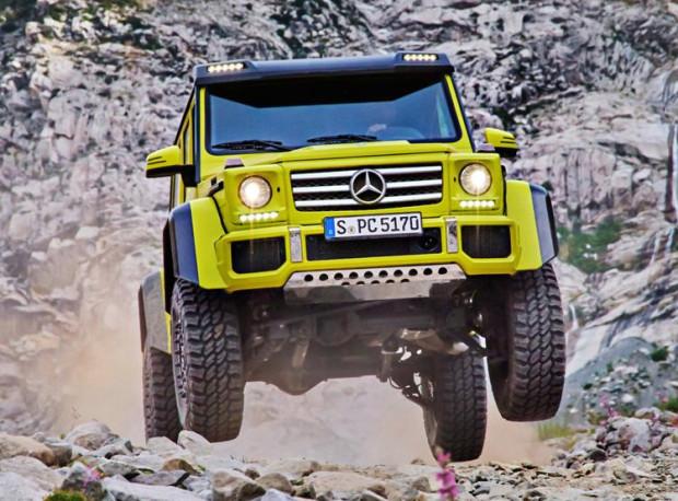 Trójmiejski dealer Mercedesa sprzedał cztery egzemplarze G 500 4x4 2, które łącznie kosztowały ponad 4,6 mln zł.