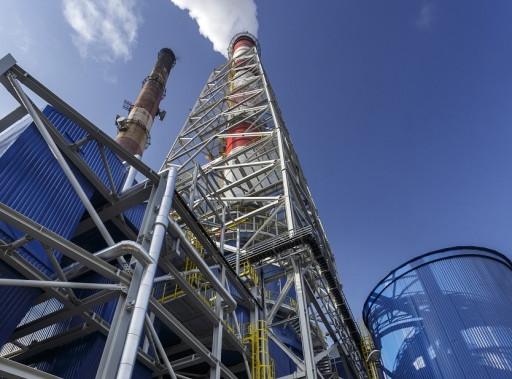 Biorąc udział w licytacji można wygrać wjazd na komin elektrociepłowni EDF w Gdańsku