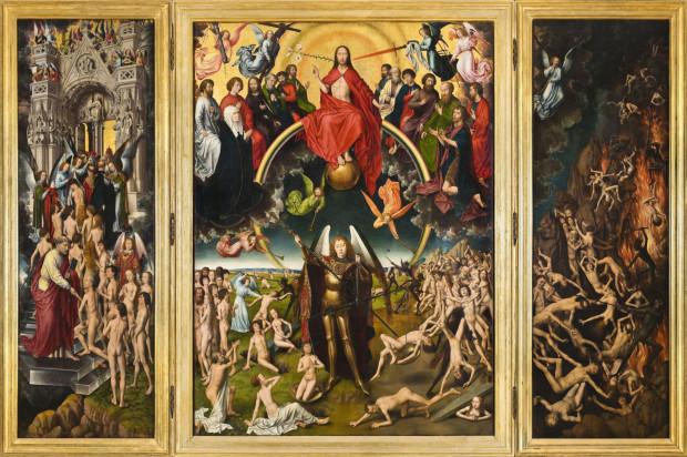 """""""Sąd Ostateczny"""" Hansa Memlinga to obok """"Damy z gronostajem"""" Leonarda da Vinci jeden z najcenniejszych w polskich zbiorach obrazów malarstwa zachodnioeuropejskiego."""